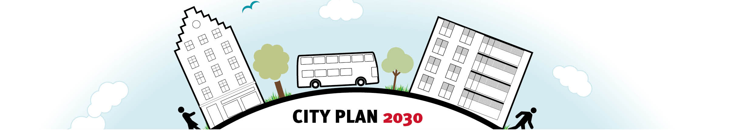 City Plan 2030 logo