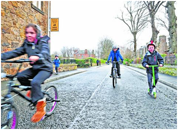 School Streets Project- Proposed Experimental Traffic Regulation